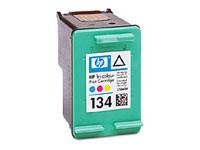 Картридж струйный HP 134 C9363HE многоцветный (560стр.) для HP DJ 6543/5743/6843/PS 8153/8453