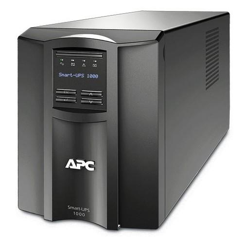 Источник бесперебойного питания APC Smart-UPS SMT1000I 700Вт 1000ВА черный