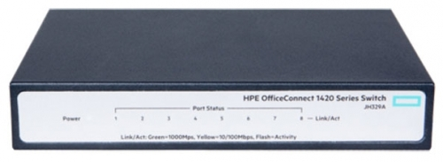 Коммутатор HPE OfficeConnect 1420 JH329A 8G неуправляемый