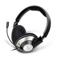 Наушники с микрофоном Creative HS-620 серебристый/черный 2.5м мониторы оголовье (51EF0390AA002)