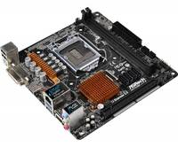 Материнская плата Asrock H110M-ITX Soc-1151 Intel H110 2xDDR4 mini-ITX AC`97 8ch(7.1) GbLAN+DVI+HDMI