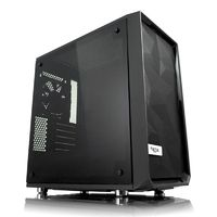 Корпус Fractal Design Meshify Mini C TG черный без БП mATX 5x120mm 4x140mm 2xUSB3.0 audio bott PSU