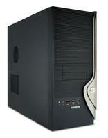 Корпус Gigabyte GZ-X9 черный без БП ATX 1x120mm 2xUSB2.0 audio