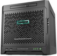"Сервер HPE ProLiant MicroServer Gen10 1xX3216 1x8Gb x4 3.5"" SATA 1G 2P 1x200W 2xDisplayPort (873830-421)"