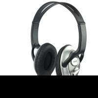 Наушники с микрофоном Oklick HS-M131V серебристый/черный 1.8м накладные оголовье