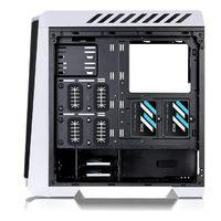 Корпус Thermaltake Versa C24 TG RGB белый без БП ATX 5x120mm 2x140mm 2xUSB2.0 2xUSB3.0 audio bott PSU