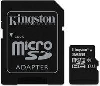 Флеш карта microSDHC 32Gb Class10 Kingston SDCS/32GB + adapter