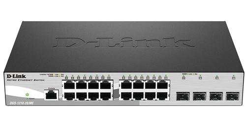 Коммутатор D-Link DGS-1210-20/ME/A1A 16G 4SFP управляемый