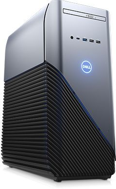 ПК Dell Inspiron 5680 MT i5 8400 (2.8)/8Gb/1Tb 7.2k/SSD128Gb/GTX1060 6Gb/DVDRW/Windows 10 Home/GbitEth/WiFi/460W/клавиатура/мышь/серебристый/черный