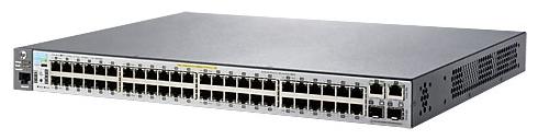 Коммутатор HPE Aruba 2530 J9778A 48x100Mb 2G 2SFP 48PoE+ 382W