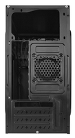 Корпус LinkWorld VC-13M33 черный без БП mATX 1x80mm 2xUSB2.0 audio