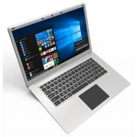 "Ноутбук Digma EVE 604 Atom X5 Z8350/2Gb/SSD32Gb+32Gb/Intel HD Graphics 400/15.6""/IPS/FHD (1920x1080)/Windows 10 Home Multi Language 64/silver/WiFi/BT/Cam/10000mAh"