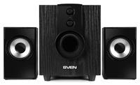 Колонки Sven MS-107 2.1 черный 10Вт