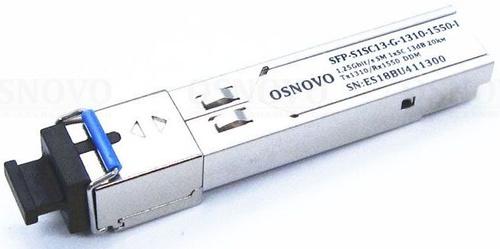 Модуль Osnovo SFP-S1SC13-G-1310-1550-I