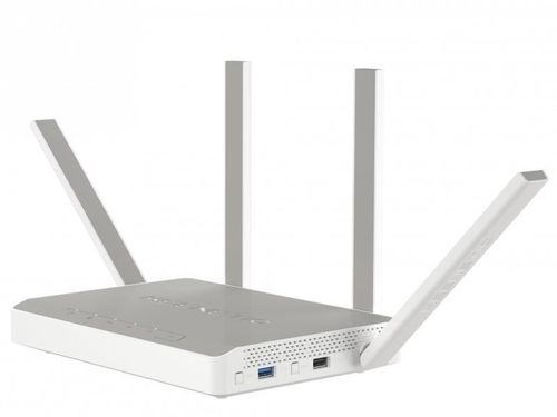 Роутер беспроводной Keenetic Ultra AC2600 10/100/1000BASE-TX/4G ready белый