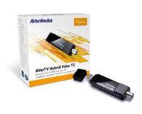 Тюнер-ТВ/FM Avermedia AVerTV Hybrid Volar T2 внешний USB PDU