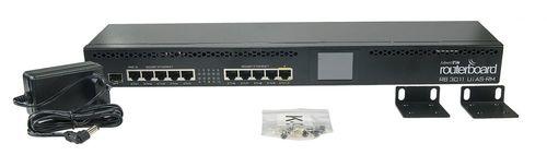 Роутер MikroTik RB3011UIAS-RM 10/100/1000BASE-TX/SFP черный