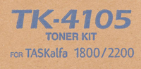 Картридж лазерный Kyocera TK-4105 черный для Kyocera TASKalfa 1800