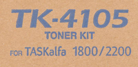 Тонер Картридж Kyocera TK-4105 черный для Kyocera TASKalfa 1800