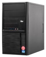 ПК IRU Office 313 MT i3 7100 (3.9)/4Gb/1Tb 7.2k/HDG630/Windows 10 Professional 64/GbitEth/400W/черный
