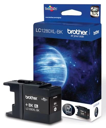 Картридж струйный Brother LC1280XLBK черный для Brother MFC-J6510DW/J6910DW