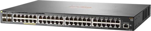 Коммутатор HPE Aruba 2930F JL262A 48G 4SFP 48PoE+ 370W управляемый