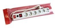 Сетевой фильтр Most LR 3м (6 розеток) белый (коробка)