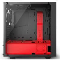 Корпус NZXT S340 ELITE черный/красный без БП ATX 4x120mm 3x140mm 2xUSB2.0 2xUSB3.0 audio bott PSU