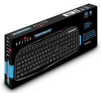 Клавиатура Oklick 150M черный USB