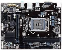 Материнская плата Gigabyte GA-H110M-S2 Soc-1151 Intel H110 2xDDR4 mATX AC`97 8ch(7.1) GbLAN+VGA