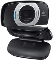 Камера Web Logitech HD C615 черный 2Mpix (1920x1080) USB2.0 с микрофоном