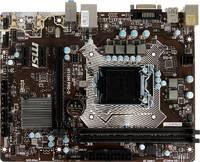Материнская плата MSI H110M PRO-D Soc-1151 Intel H110 2xDDR4 mATX AC`97 8ch(7.1) GbLAN+DVI