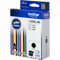 Картридж струйный Brother LC529XLBK черный (2400стр.) для Brother DCP-J100/J105/J200