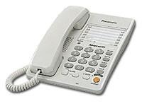 Телефон проводной Panasonic KX-TS2363RUW белый