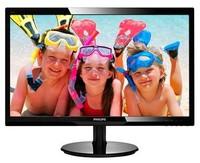"Монитор Philips 24"" 246V5LSB (00/01) черный TN+film LED 5ms 16:9 DVI матовая 250cd 1920x1080 D-Sub FHD 4.65кг"
