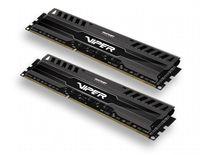 Память DDR3 2x8Gb 1600MHz Patriot PV316G160C9K RTL PC3-12800 CL9 DIMM 240-pin 1.5В