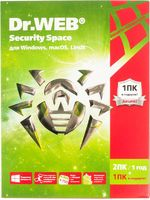 ПО DR.Web Security Space Трешка 3 ПК/12 месяцев (AHW-B-12M-3-A3)