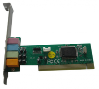 Звуковая карта PCI 8738 (C-Media CMI8738-SX) 4.0 bulk