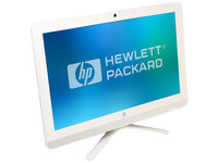 "Моноблок HP 22-b013ur 21.5"" Full HD Cel J3060 (1.6)/4Gb/500Gb 7.2k/HDG400/DVDRW/Free DOS 2.0/GbitEth/WiFi/BT/65W/клавиатура/мышь/Cam/белый 1920x1080"
