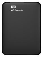 """Жесткий диск WD Original USB 3.0 500Gb WDBUZG5000ABK-WESN Elements Portable 2.5"""" черный"""
