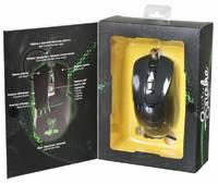 Мышь Oklick 865G Snake черный/черный оптическая (2400dpi) USB игровая (5but)