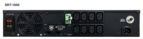 Источник бесперебойного питания Powercom Smart King RT SRT-3000A LCD 2700Вт 3000ВА черный