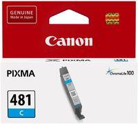 Картридж струйный Canon CLI-481 C 2098C001 голубой для Canon Pixma TS6140/TS8140TS/TS9140/TR7540/TR8540