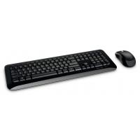 Клавиатура + мышь Microsoft 850 клав:черный мышь:черный USB беспроводная Multimedia
