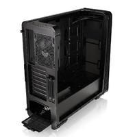 Корпус Thermaltake View 28 RGB черный без БП ATX 4x120mm 1xUSB2.0 2xUSB3.0 audio bott PSU