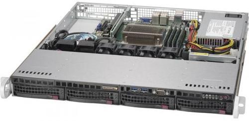 Платформа SuperMicro SYS-5019S-M2 RAID 1x350W