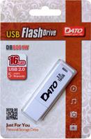 Флеш Диск Dato 16Gb DB8001 DB8001W-16G USB2.0 белый