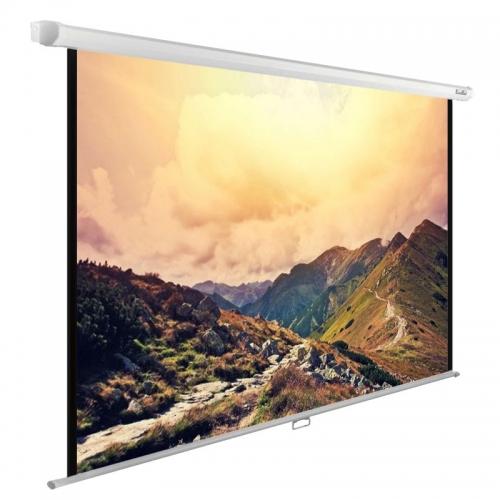 Экран Cactus 180x240см WallExpert CS-PSWE-240x180-WT 4:3 настенно-потолочный рулонный