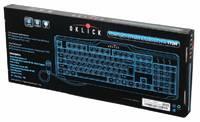 Клавиатура Oklick 170M черный PS/2