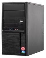 ПК IRU Office 313 MT i3 8100 (3.6)/4Gb/1Tb 7.2k/UHDG 630/Free DOS/GbitEth/400W/черный